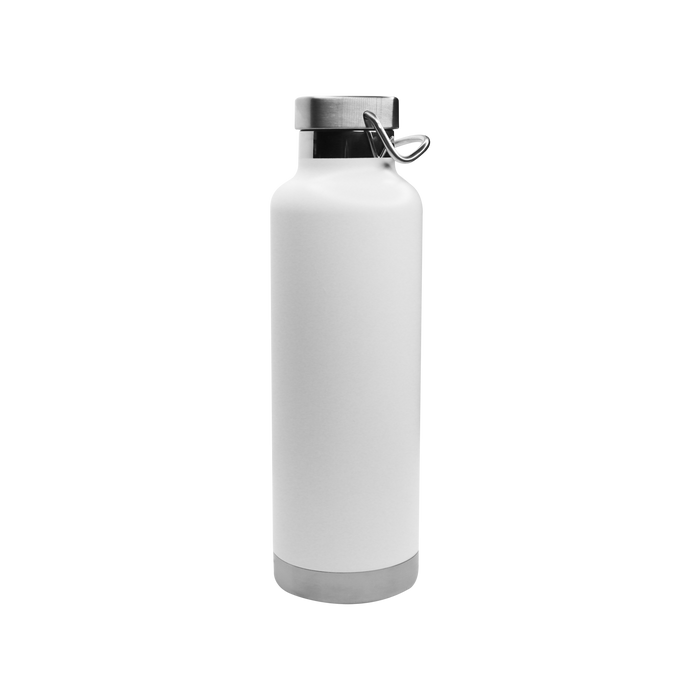 Matte White Vacuum Insulated Canteen
