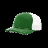 Kelly Green/White Richardson Trucker Snapback Hat Thumb