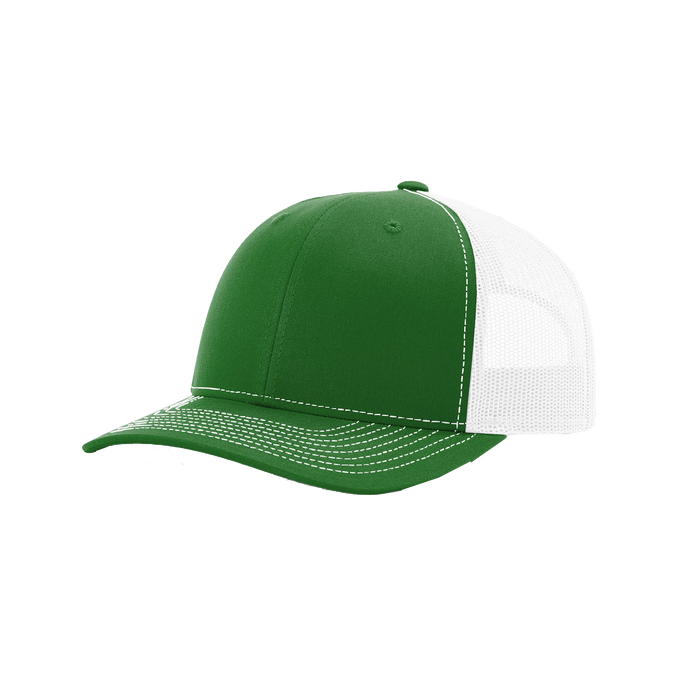 Kelly Green/White Richardson Trucker Snapback Hat