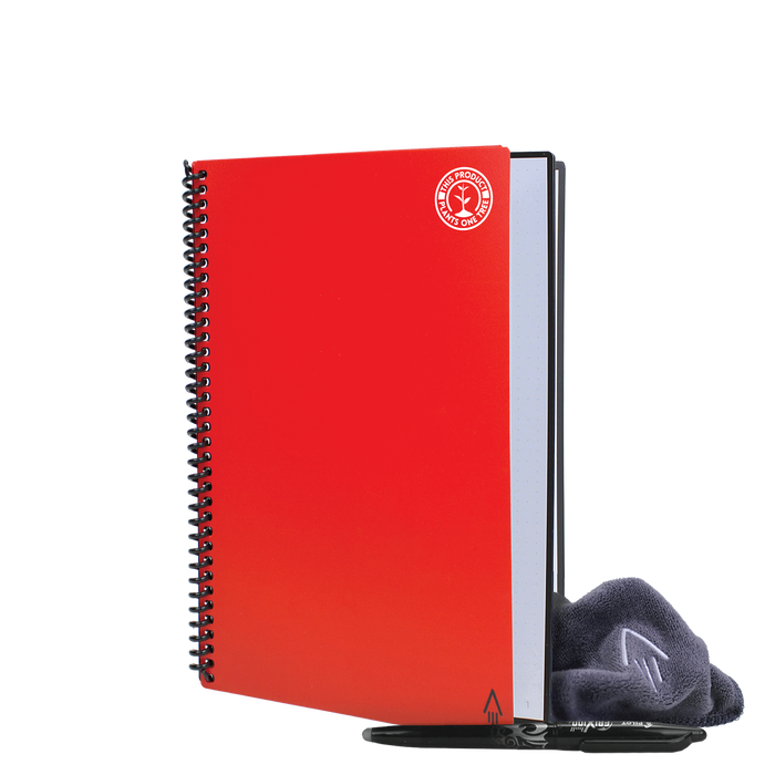 Red #OneTreePlanted Rocketbook Core Executive (Everlast)