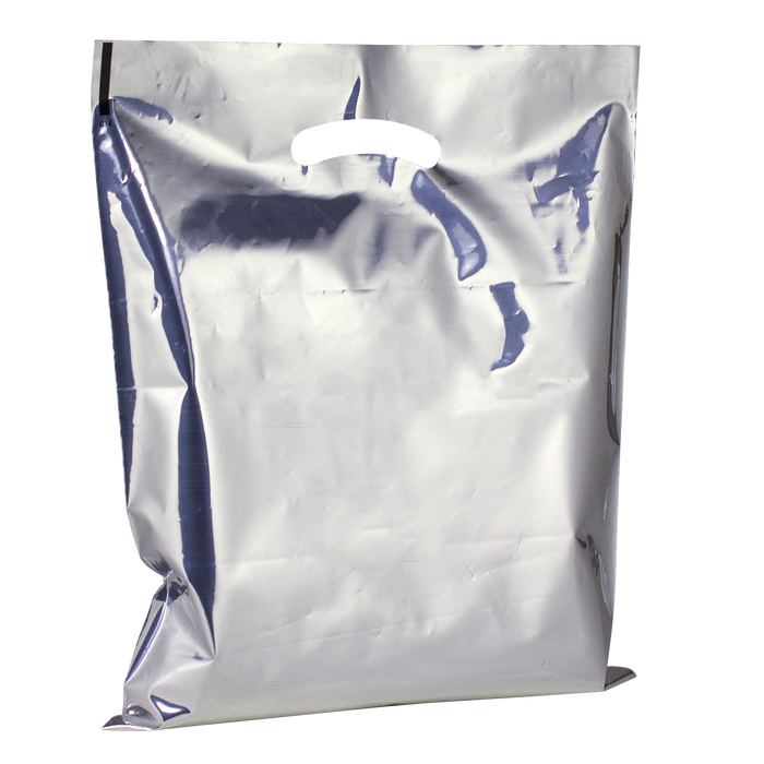 Silver Haunted House Bag (Silver)
