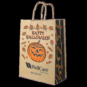 Kraft Paper Halloween Bag