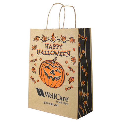 Kraft Paper Halloween Bag