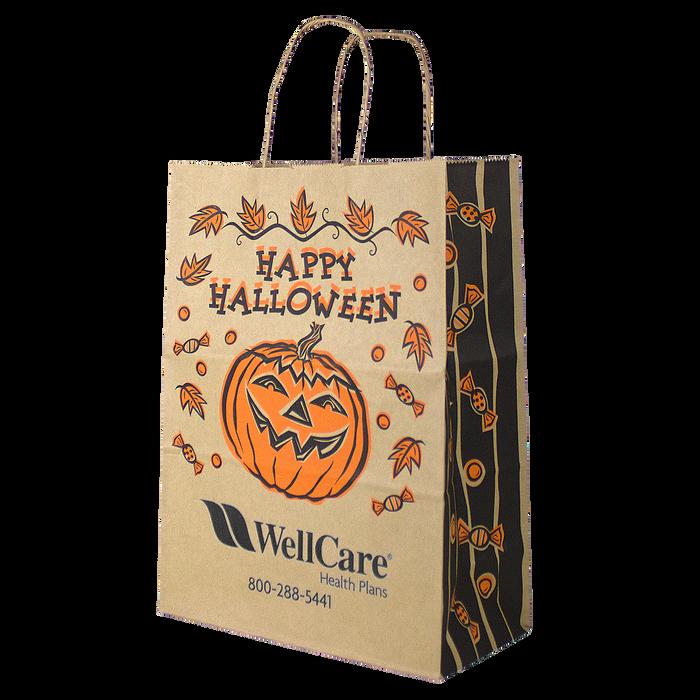 Kraft Paper Halloween Bag - DISCONTINUED