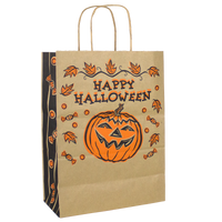 Natural Paper Kraft Paper Halloween Bag - DISCONTINUED Thumb
