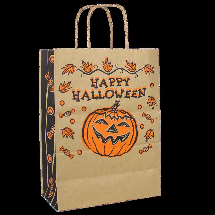 Natural Paper Kraft Paper Halloween Bag - DISCONTINUED