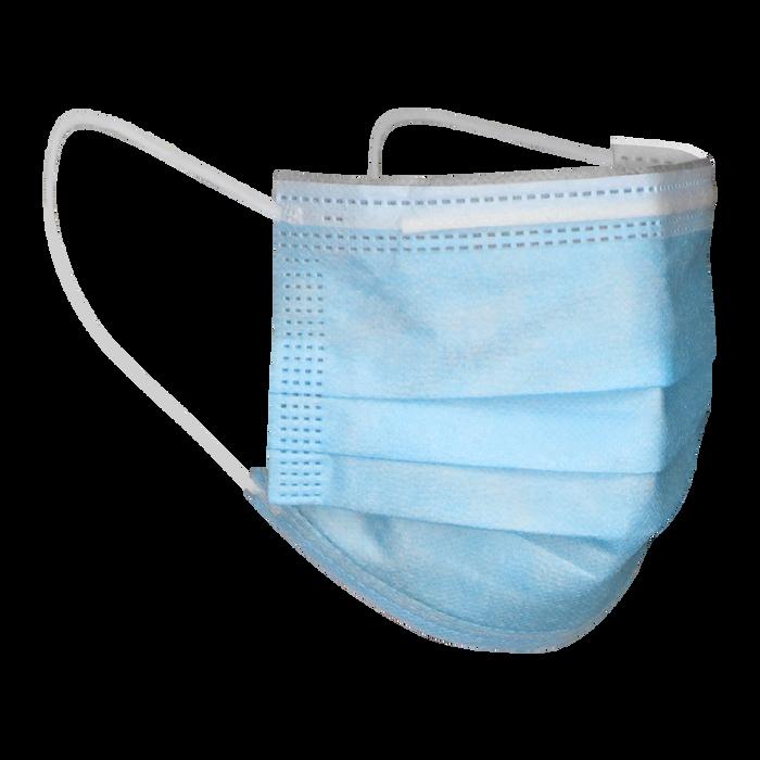 Cool Blue 3 Ply Earloop Facemask
