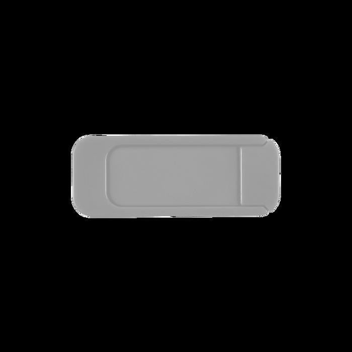 Silver Sliding Webcam Cover