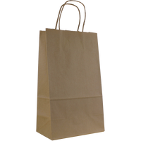 Natural Paper Kraft Paper 2 Bottle Tote Thumb