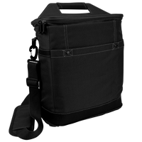 Black Tall Urban Utility Cooler Tote Thumb