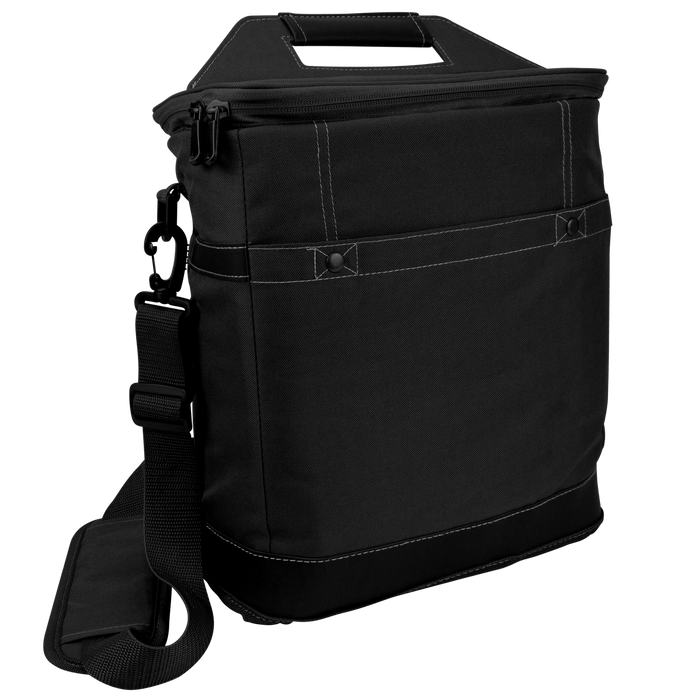 Black Tall Urban Utility Cooler Tote