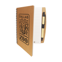Eco Stone Paper Notebook with Pen Thumb