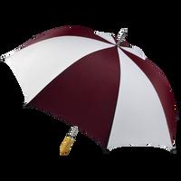 Burgundy/White Jupiter Umbrella Thumb