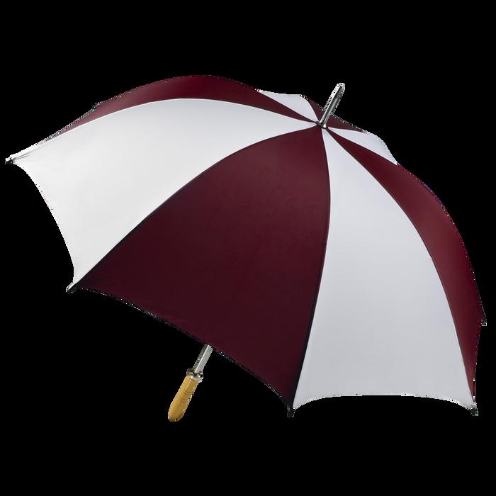 Burgundy/White Jupiter Umbrella