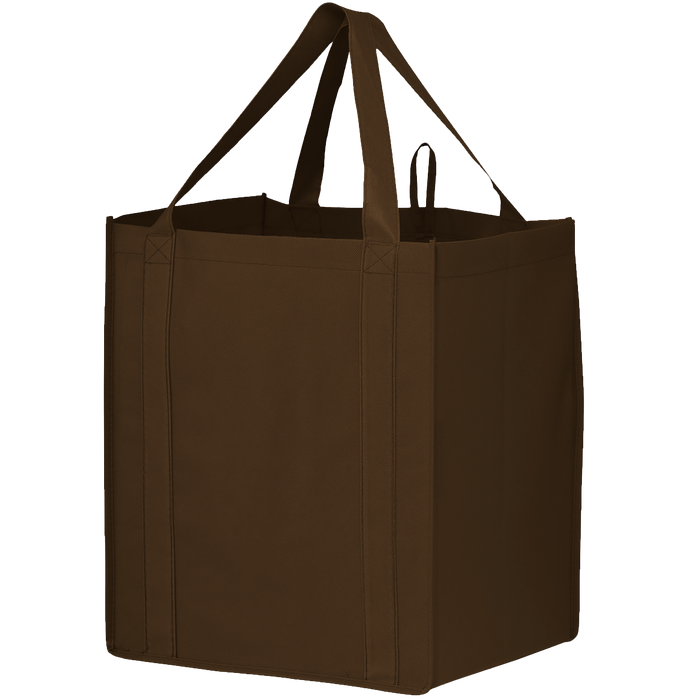 Brown Big Storm Grocery Bag
