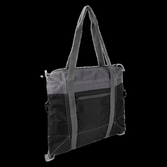 Black Mini Urban Expandable Soft Cooler Bag