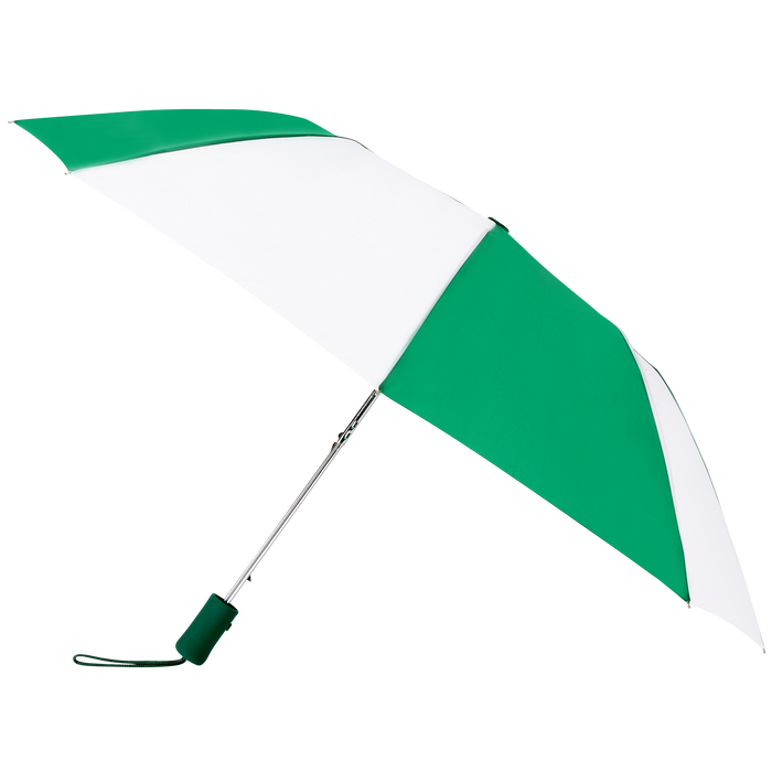Kelly Green/White Atlas Umbrella