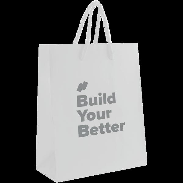 paper bags,  breast cancer awareness bags,