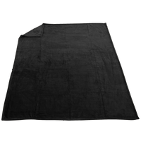 Black Taos Microfleece Throw Thumb