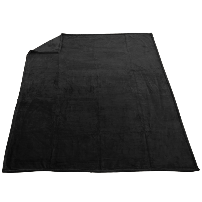 Black Taos Microfleece Throw