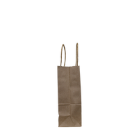 Mini Kraft Paper Shopper Bag Thumb
