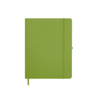 Lime Green Medium Soft Faux Leather Journal Thumb