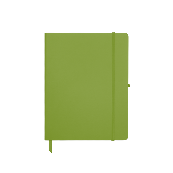 Lime Green Medium Soft Faux Leather Journal