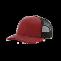 Cardinal/Black Richardson Trucker Snapback Hat Thumb
