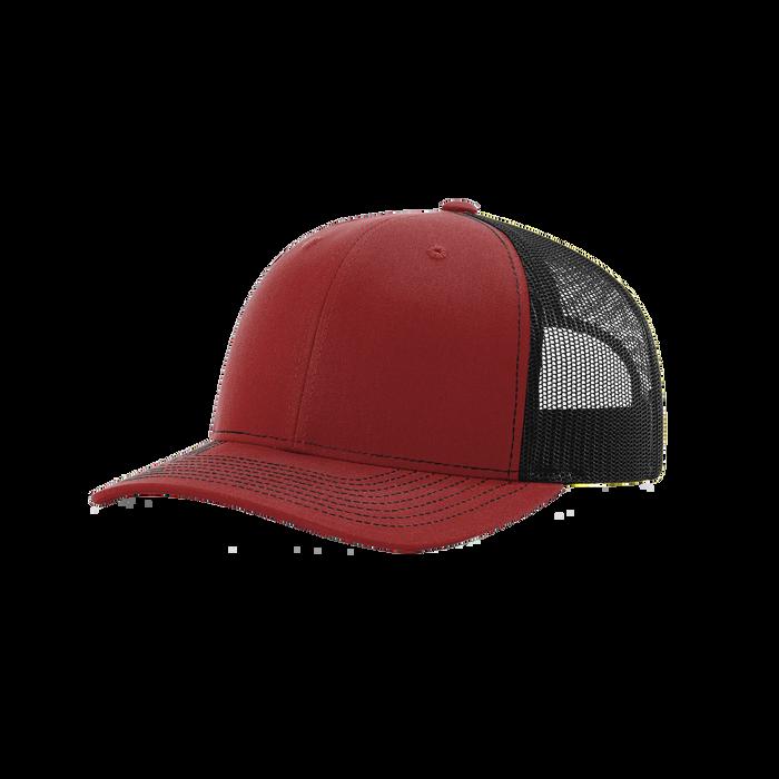 Cardinal/Black Richardson Trucker Snapback Hat