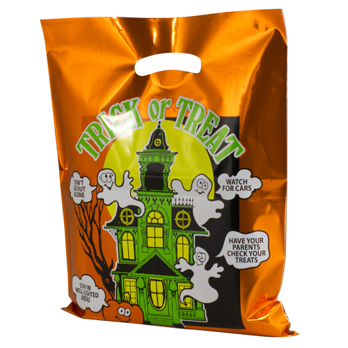 Haunted House Bag (Orange)