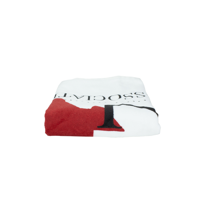 Heavyweight White Golf and Fitness Towel