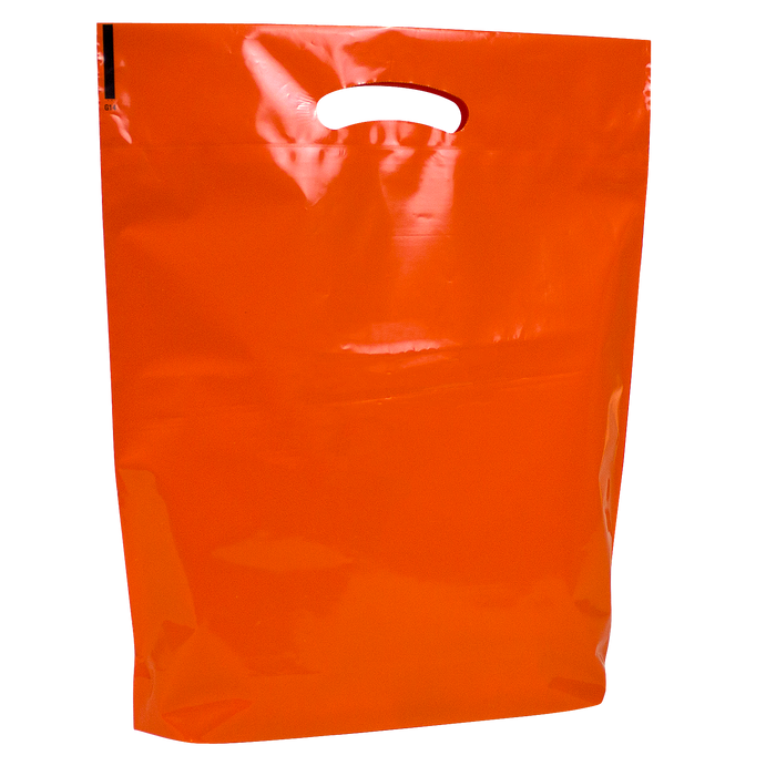 Orange Pumpkin Safety Tips Bag