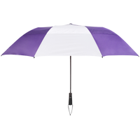 Purple/White Mercury Umbrella Thumb