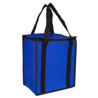 Royal Blue Square Top Insulated Tote Thumb