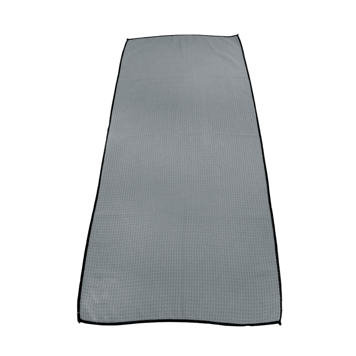 Grey Large Microfiber Golf Towel