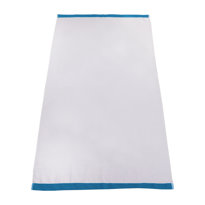 Turquoise Colored Edge Beach Towel