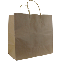 Natural Paper Medium Kraft Paper Shopper Bag Thumb