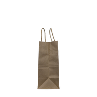Extra Small Kraft Paper Shopper Bag Thumb