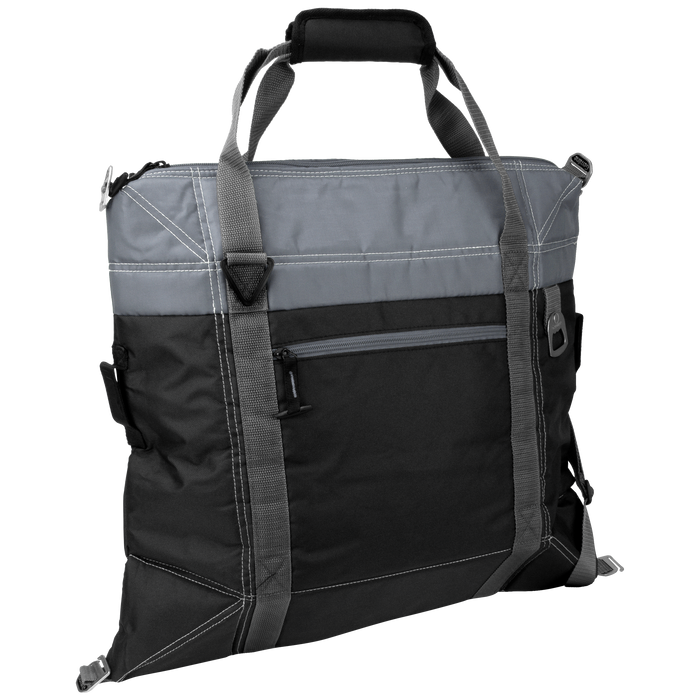 Black Urban Expandable Soft Cooler Bag