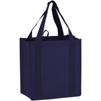 Navy Blue Little Storm Grocery Bag Thumb