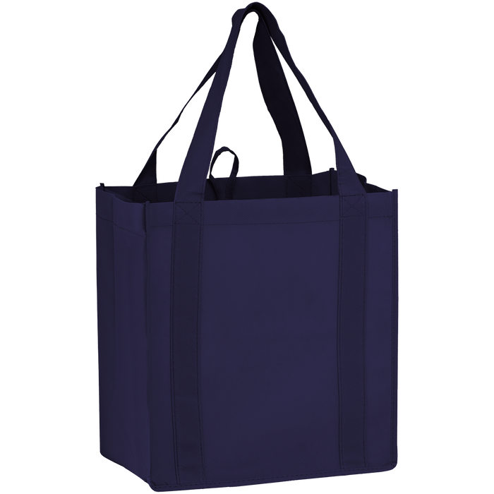 Navy Blue Little Storm Grocery Bag