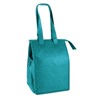 Teal Snack Pack Insulated Cooler Tote Thumb