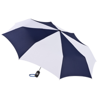 Navy/White Aquarius totes® Umbrella Thumb