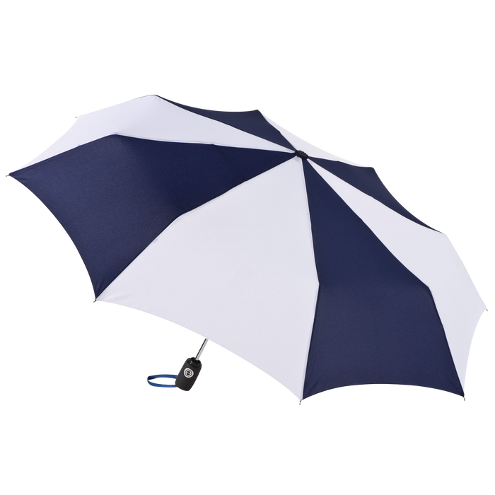 Navy/White Aquarius totes® Umbrella