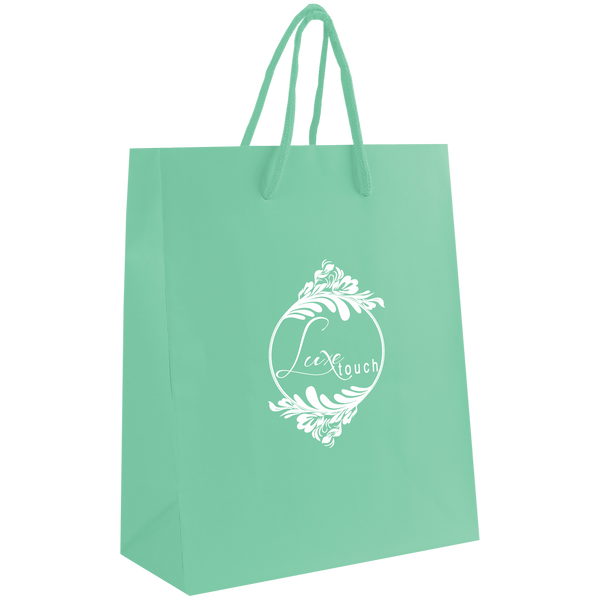 paper bags,  breast cancer awareness bags,  matte & glossy shoppers,