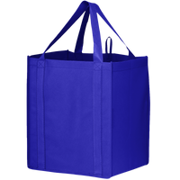 Royal Blue Big Storm Grocery Bag Thumb