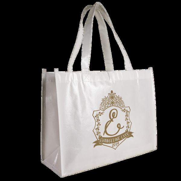 breast cancer awareness bags,  laminated bags,  tote bags,