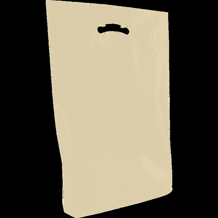 Ivory Medium Eco-Friendly Die Cut Plastic Bag