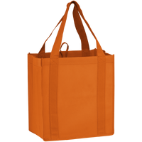 Orange Little Storm Grocery Bag Thumb