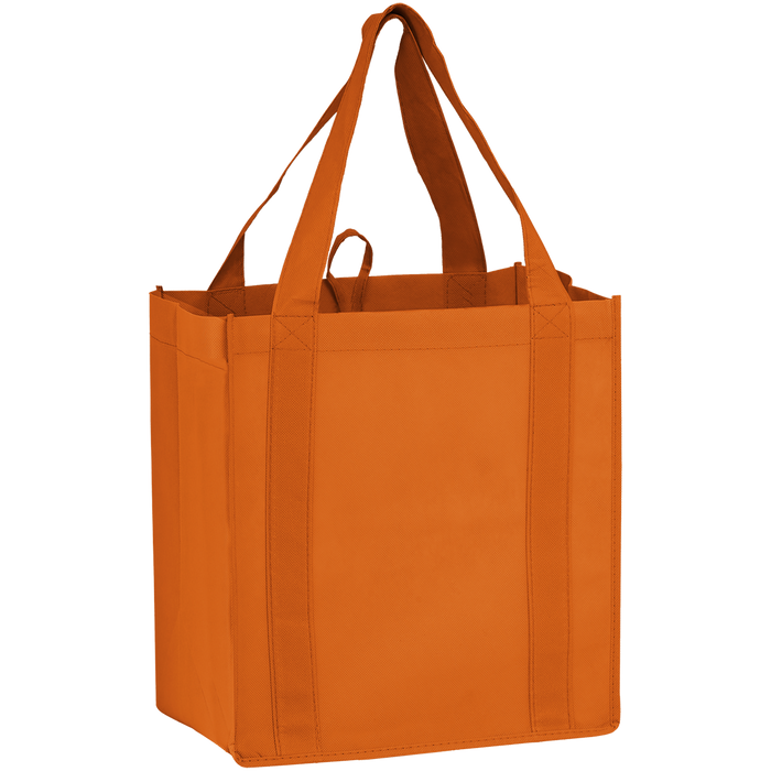 Orange Little Storm Grocery Bag